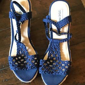 Shoes - Steve Madden wedges size 8
